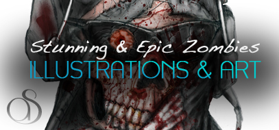 120+ Epic, Stunning, Creative & Scary Zombie Design Inspirations – Illustrations, Art, & Photography