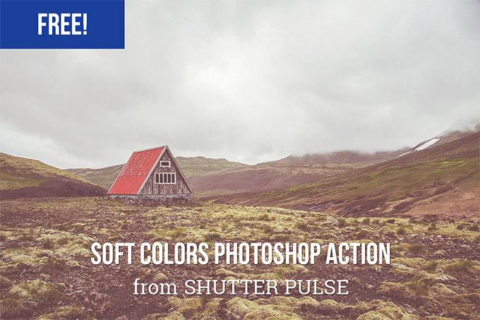 Soft Colors Photoshop Action