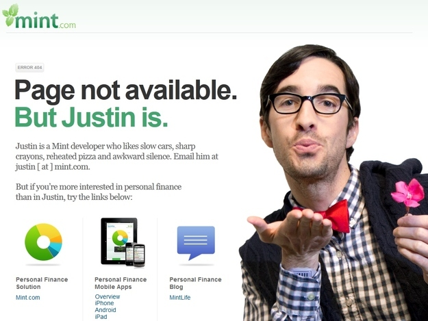 The 28 Best Error Pages On The Internet - Error 404: Post description not found.