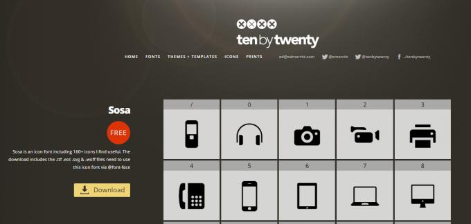 twenty-by-twenty-free-icon-font