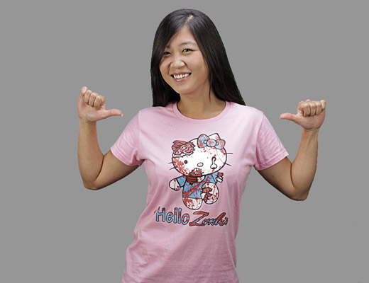 zombie-hello-kitty-shirt