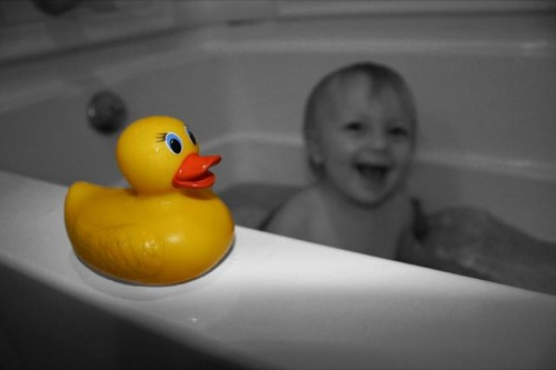 Selective color duck