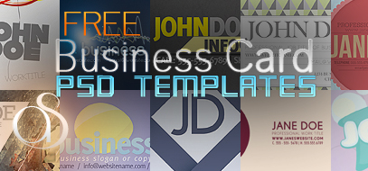Quickie Roundup – Best FREE Business Card Templates (PSD Download) & Resources of 2011